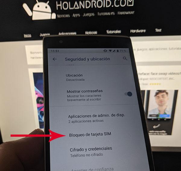 Como cambiar el pin en Android