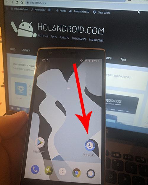 Como ocultar aplicaciones en Android