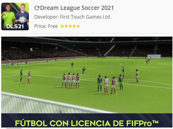 Descarga Dream League Soccer Android