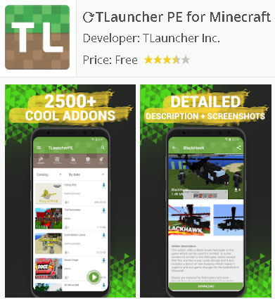 Descarga TLauncher para Android