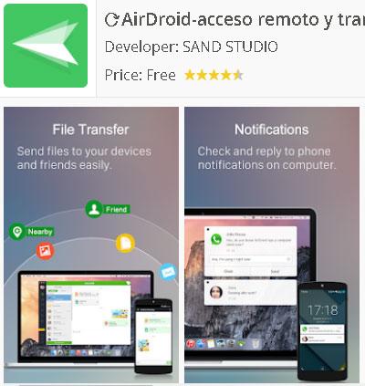 Descargar Airdroid para Android