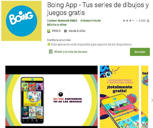 Descargar Boing App