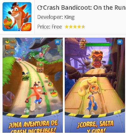 Descargar Crash Bandicoot: On the Run! para Android