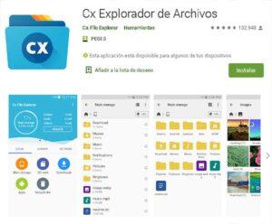 Descargar Cx Explorador de Archivos gratuito
