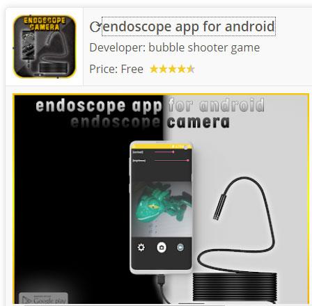 Descargar Endoscope camera Android app
