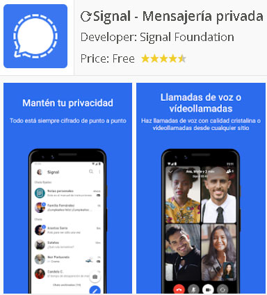 Descarga Signal App Android