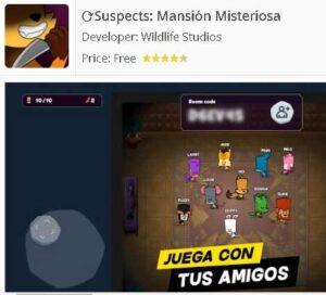 Descargar app Suspects Mansión Misteriosa
