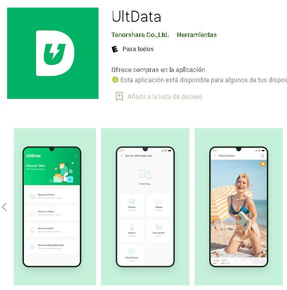Descargar UltData para Android