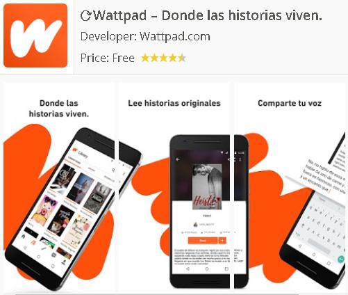 Descargar Wattpad App