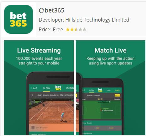 Descargar bet365 mobile app for Android