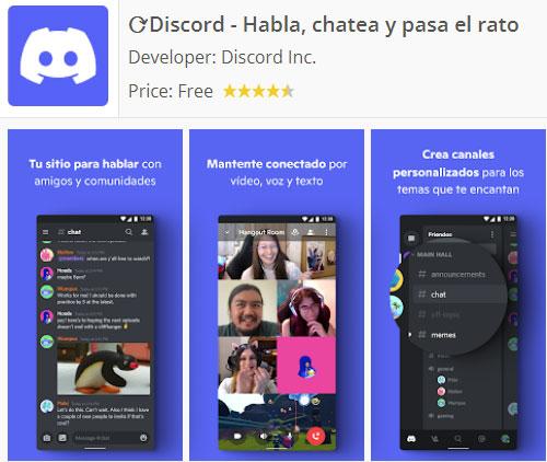 Discord para Android