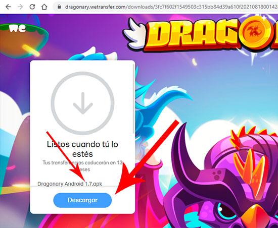 Dragonary para Android descargar apk