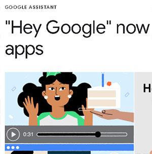 El asistente de Google ya funciona con aplicaciones Android