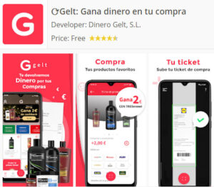 Gelt App para Android