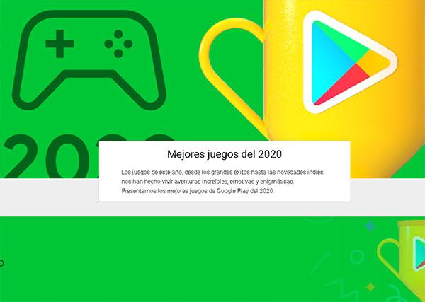 Lo mejor de 2020 en Google Play Store juegos