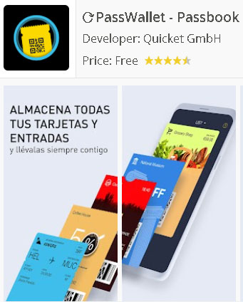PassWallet Android Passbook