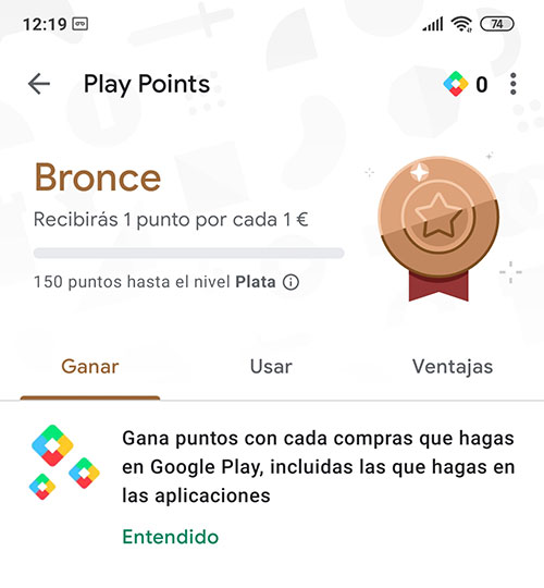 Que son los Play Points de Google Play Store
