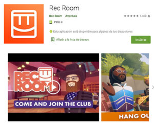 Rec Room para Android