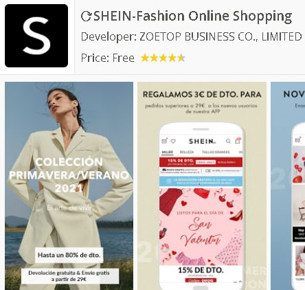 Descargar app Shein para Android