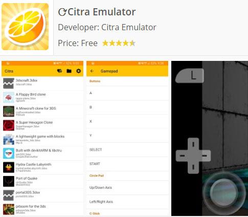 descargar citra Android emulador
