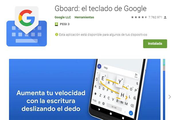 descargar teclado android gboard