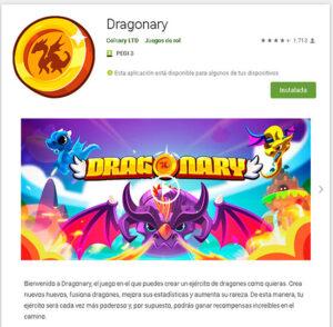 Dragonary para Android descargar Play Store