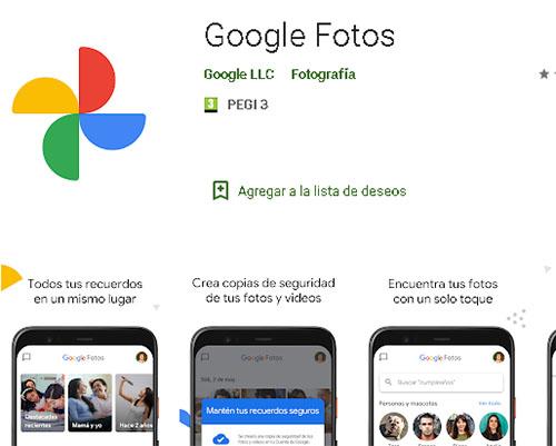 El fin de Google Fotos